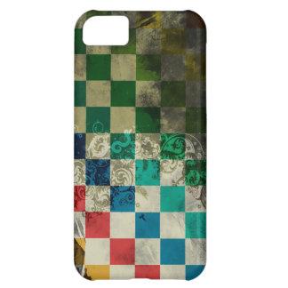 kleurrijke kubussen met wervelings vectorart. hoesjes voor iPhone 5C