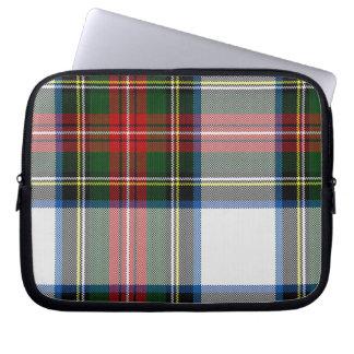Kleurrijke Laptop van de Plaid van het Geruite Sch Computer Sleeve