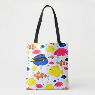 Kleurrijke Leuke Capricieuze Tropische Vissen en Draagtas