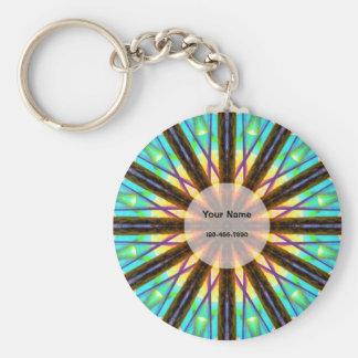 Kleurrijke Mandala Sleutelhanger