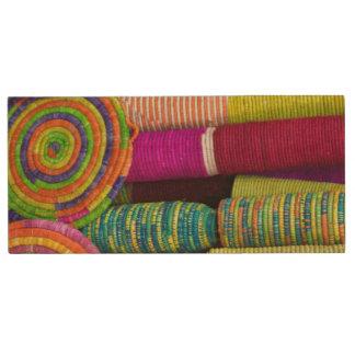 Kleurrijke Manden bij Markt Houten USB Stick