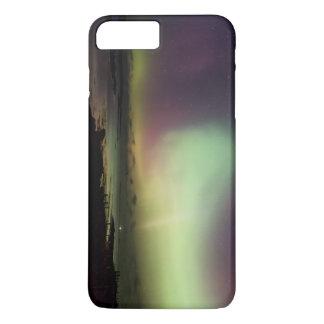 Kleurrijke noordelijke lichten iPhone 8/7 plus hoesje