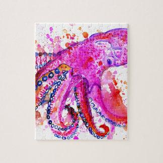 Kleurrijke Octopus Art02 Puzzel