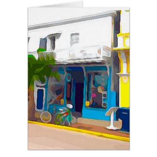 Kleurrijke Opslag in Key West Kaart