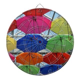 kleurrijke Paraplu Dartborden