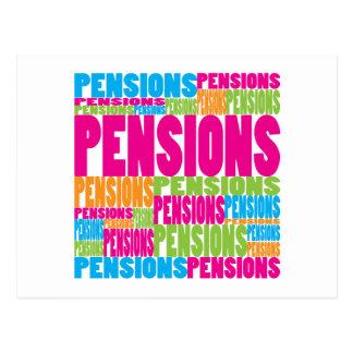 Kleurrijke Pensioenen Briefkaart