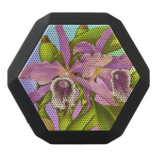 Kleurrijke Roze Orchideeën Zwarte Bluetooth Speaker