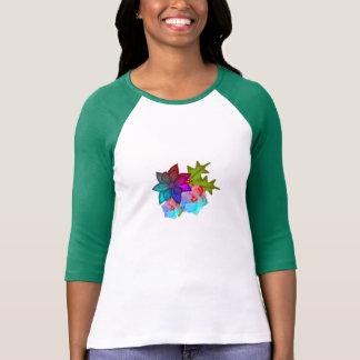 Kleurrijke Succulente Bloemen van Kerstmis T Shirt