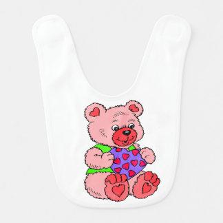 Kleurrijke   Teddyberen Slabbetje