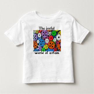 Kleurrijke toestellen Blije wereld van Kinder Shirts