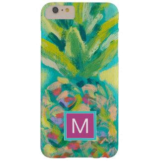 Kleurrijke Tropische Ananas Barely There iPhone 6 Plus Hoesje