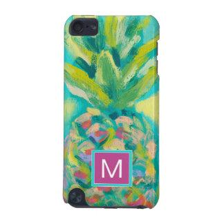 Kleurrijke Tropische Ananas iPod Touch 5G Hoesje