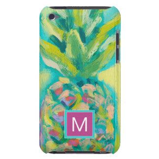 Kleurrijke Tropische Ananas iPod Touch Hoesje