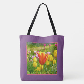 Kleurrijke Tulips_321_B_R2 Draagtas