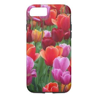 Kleurrijke Tulpen iPhone 8/7 Hoesje