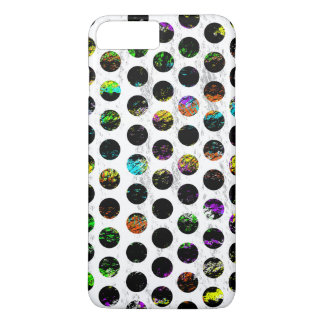 Kleurrijke Verontruste Polkadots iPhone 8/7 Plus Hoesje
