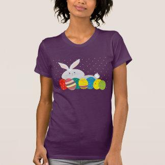 Kleurrijke Versierd van de Leuke Eieren van de T Shirt