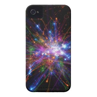 Kleurrijke vlek iPhone 4 hoesje