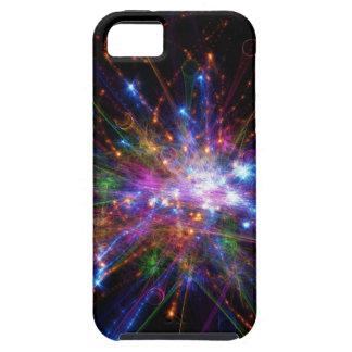 Kleurrijke vlek tough iPhone 5 hoesje