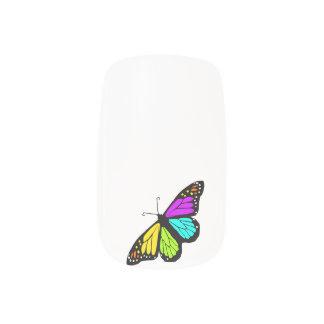 Kleurrijke vlinder clipart minx nail folie