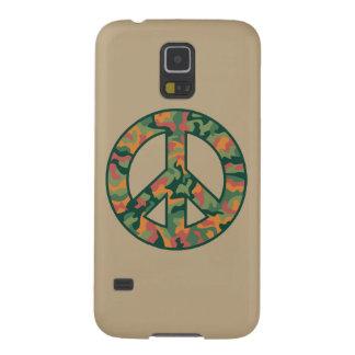 Kleurrijke Vrede Camo Galaxy S5 Hoesje