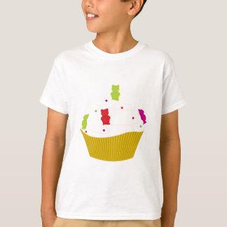 Kleverig draag cupcake t shirt