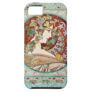 Klimop - iPhone 5 van Alphonse Mucha Hoesje