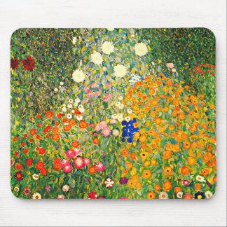 Klimt: De Tuin van de bloem Muismat