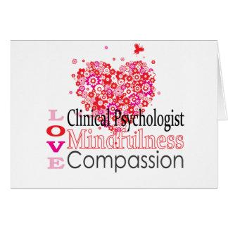 Klinische Psycholoog Wenskaart