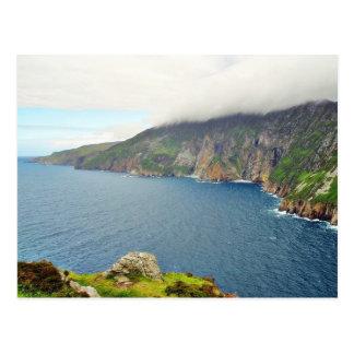 Klippen Ierland Briefkaart