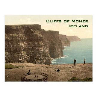 Klippen van het Ierse Briefkaart van het Kaliber