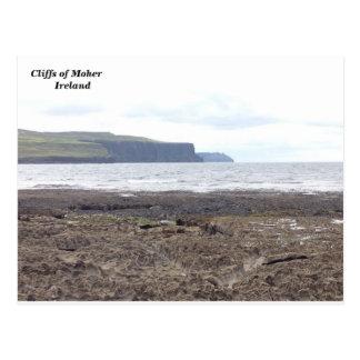 Klippen van Moher, Co. Clare, Ierland Briefkaart