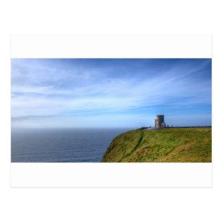 Klippen van Moher, de Toren van O'Brien, Ierland Briefkaart