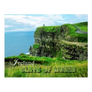 Klippen van Moher, Provincie Clare, Ierland Briefkaart