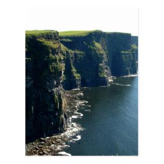 Klippen van Moher Provincie Clare Ierland Briefkaart