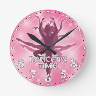 Klok van de Muur van de danser de Tijd