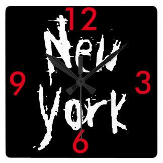 Klok van de Muur van New York de Acryl