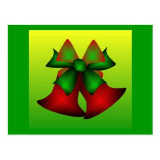 Klokken I van Kerstmis Briefkaart