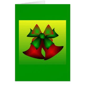Klokken I van Kerstmis Wenskaart