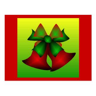 Klokken II van Kerstmis Wenskaart