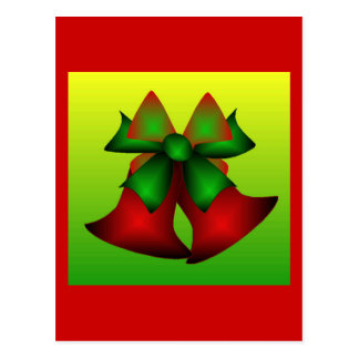 Klokken III van Kerstmis Wenskaart