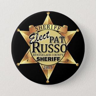 Klopje Russo voor de Knoop van de Sheriff Ronde Button 7,6 Cm