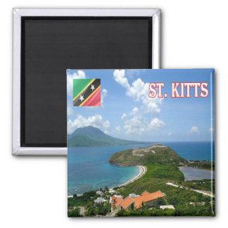 KN - het Uitzicht van St.Kitts.en.Nevis - van Magneet