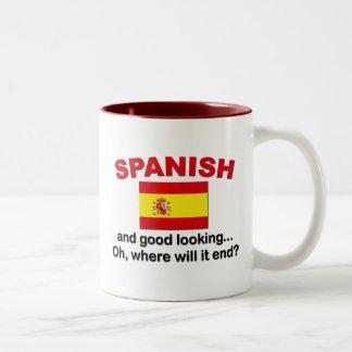 Knap en Spaans Tweekleurige Koffiemok