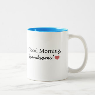 Knappe goedemorgen! De Mok van de koffie