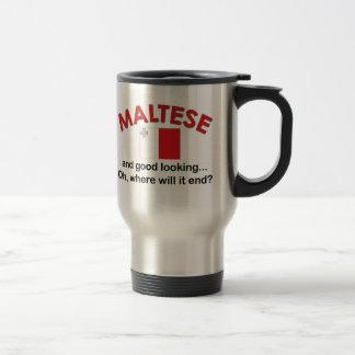 Knappe Maltees Reisbeker