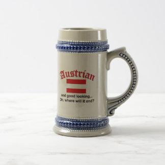 Knappe Oostenrijker Bierpul