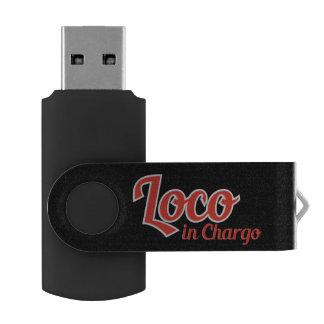Knettergek in Vette letters Chargo Swivel USB 3.0 Stick