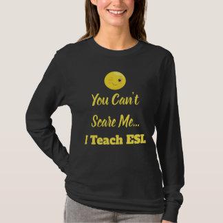 Knipoog de Leraar van de Schrik van ESL Emoji T Shirt