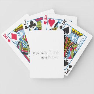 Knipoogje nu pak kaarten